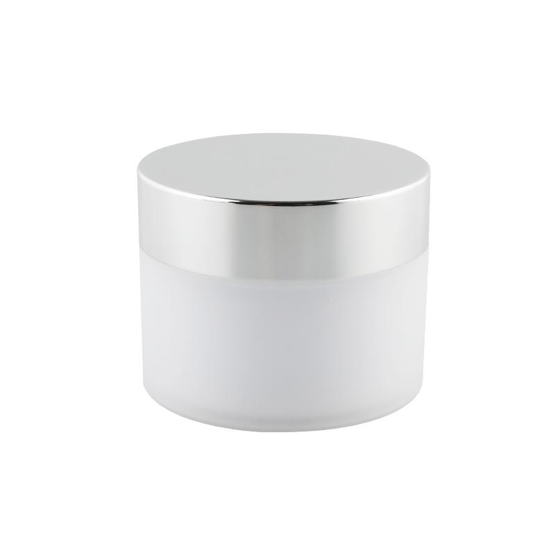 电化铝膏霜瓶 白瓶